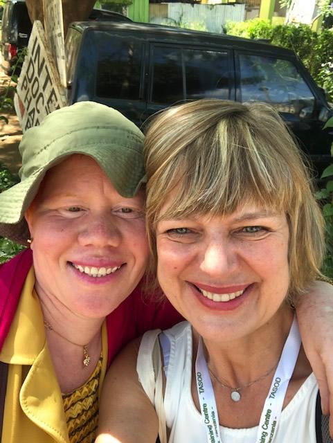 Rosemarie Moser und Näherein Judica