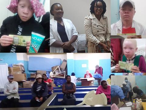Anlaufstelle für Menschen mit Albinismus