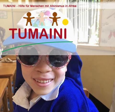 Tumaini- Hilfe für Menschen mit Albinismus in Afrika