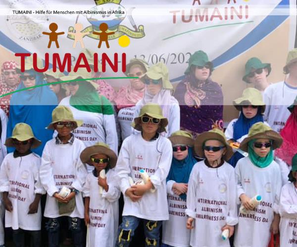 Tumaini - Hilfe für Menschen mit Albinismus in Afrika