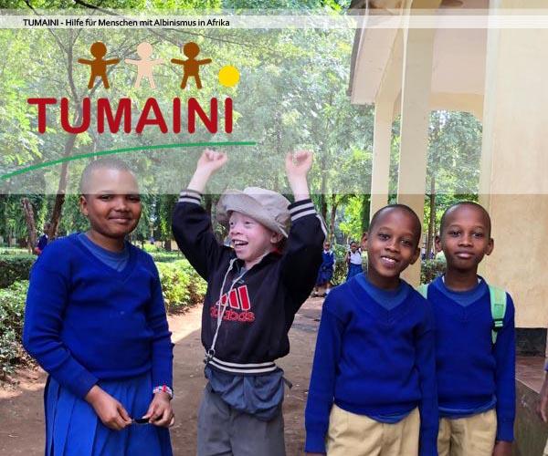 Tumaini - Hilfe für Menschen mit Albinismus